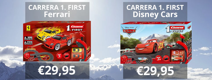 Carrera First Cars